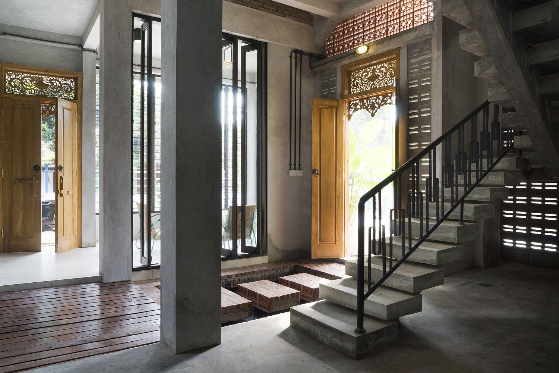 Light filled and elegant interior of Graha Lakon