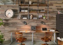 Metal-pipes-and-wood-create-a-cool-bookshelf-for-the-smart-home-office-217x155