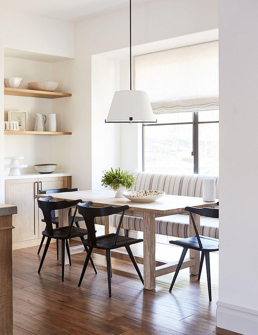 Modern Mediterranean dining room idea