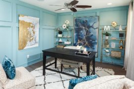 Trendy Accents for Your Home Office: From Gold to Gorgeous Prints!