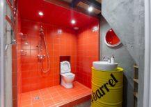 Orange-shower-area-for-the-industrial-bathroom-217x155
