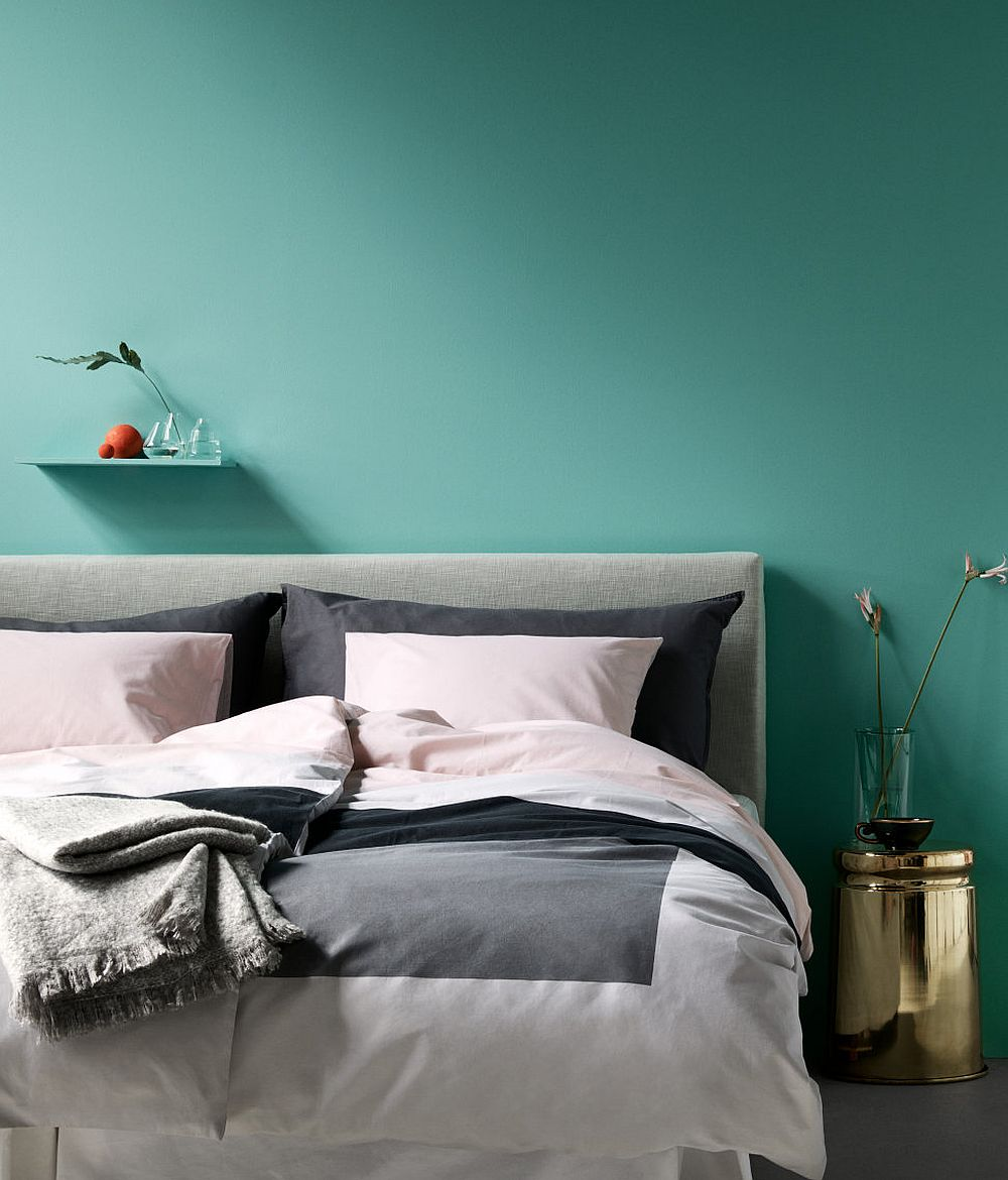 Polished tropical bedroom from H&M Home