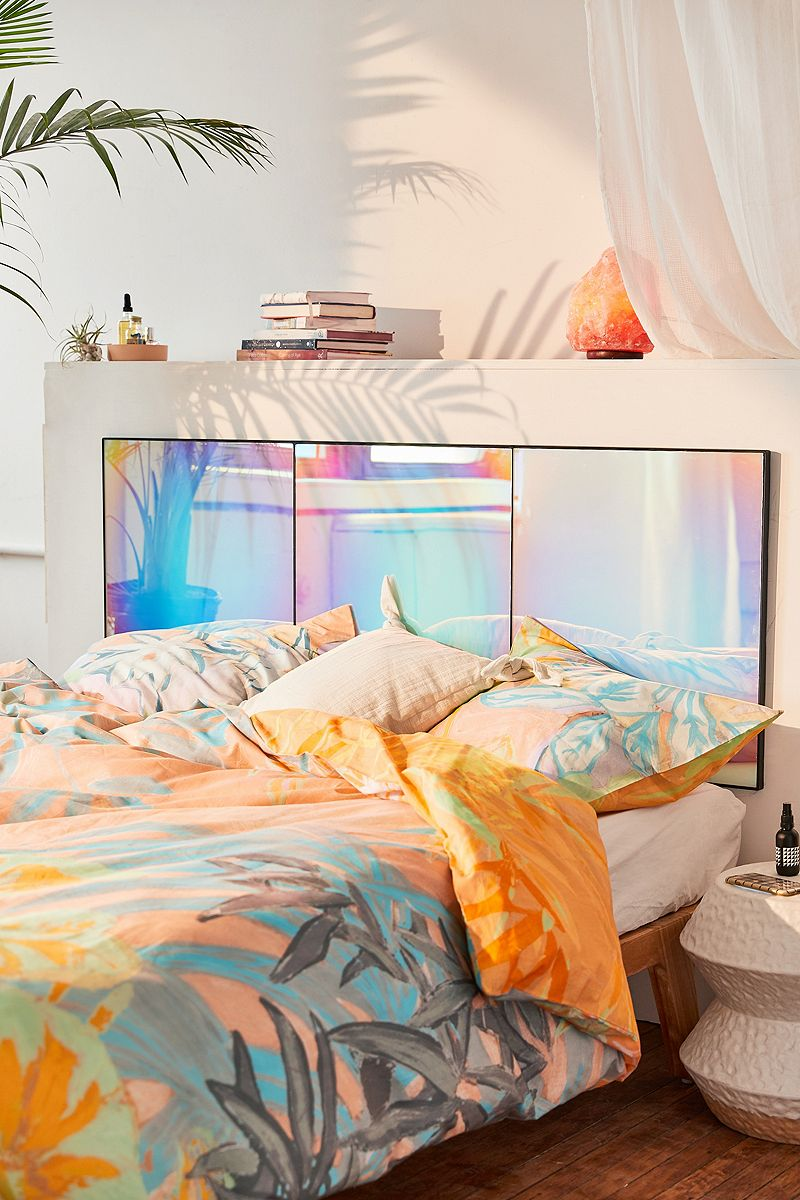 Rainbow-iridescent-headboard
