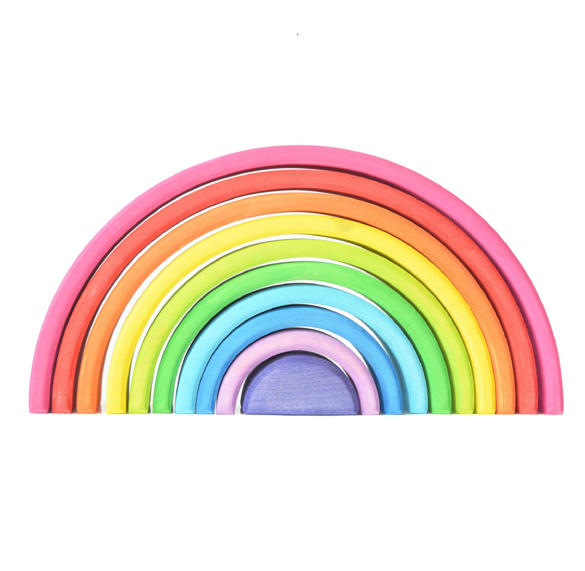 Rainbow-stacking-toy