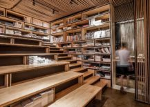 Reading-staircase-inside-the-office-with-a-rope-ceiling-217x155