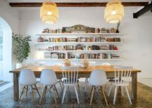 Relaxing-modern-Mediterranean-dining-room-in-white-with-lovely-lighting-217x155