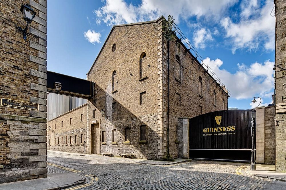 Renowned Guinness brewery in Dublin
