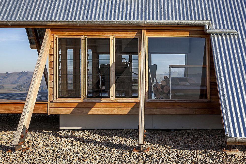 Smart and sustainable design of the cabin in the outback