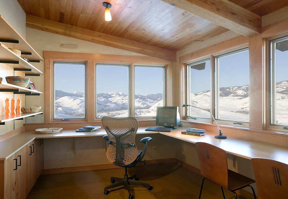Reaching New Heights Spectacular Home Offices With
