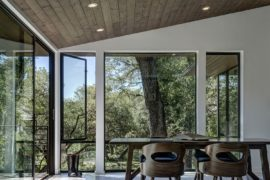 Spacious Home Office Addition Transforms This Texas Home Next to a Creek