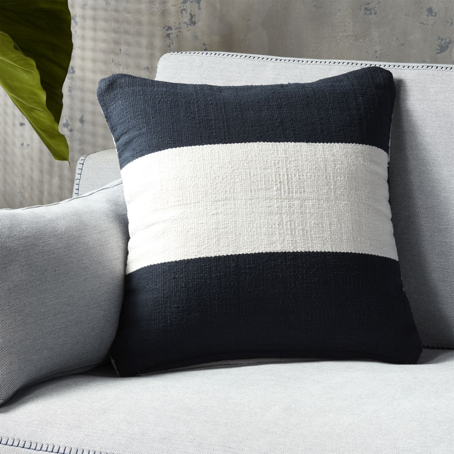 Striped pillow from CB2