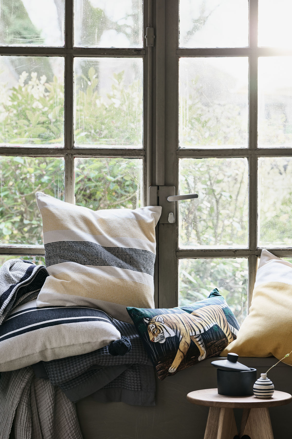 Striped style from H&M Home