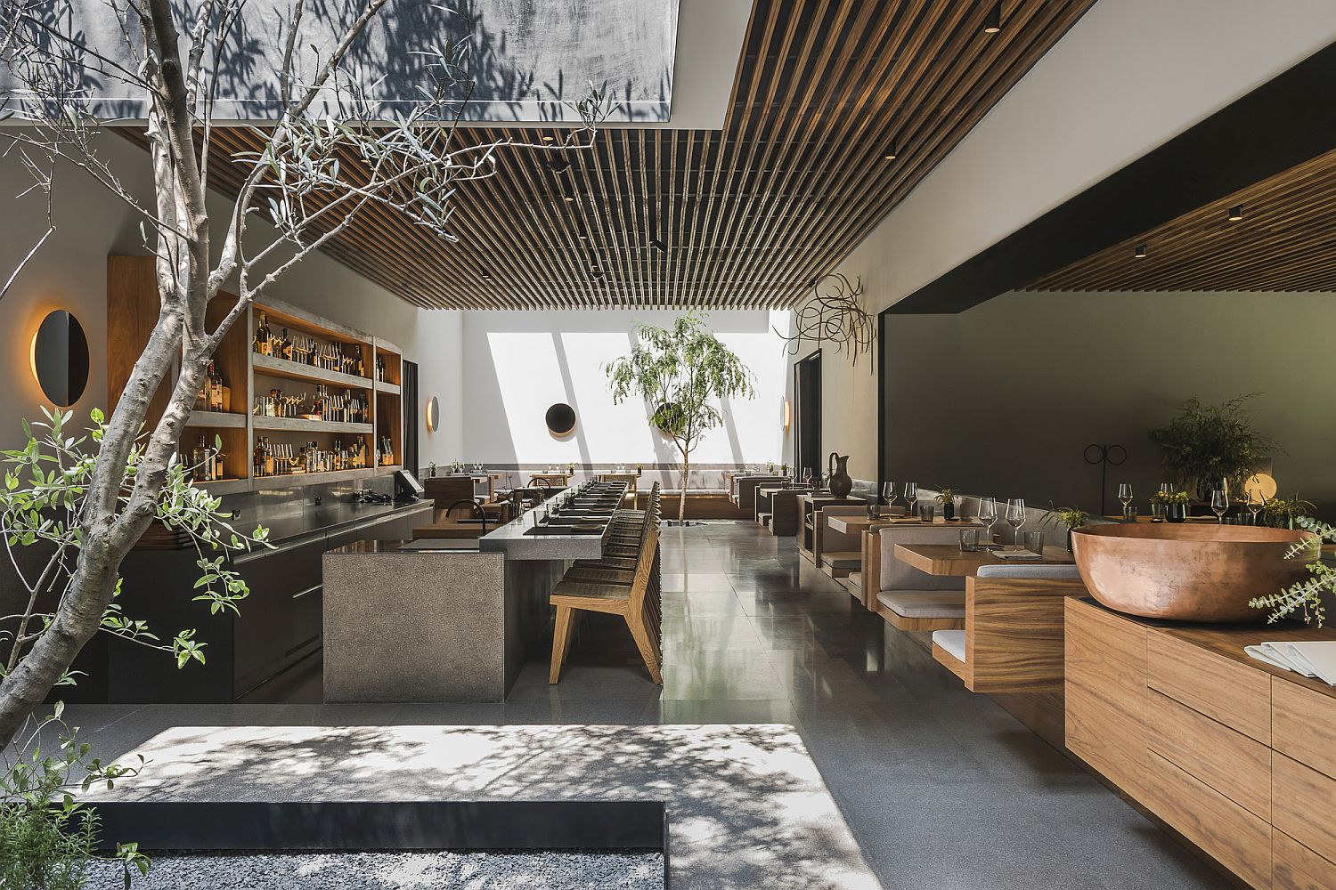 Stunning new home of Pujol in Polanco, Mexico City