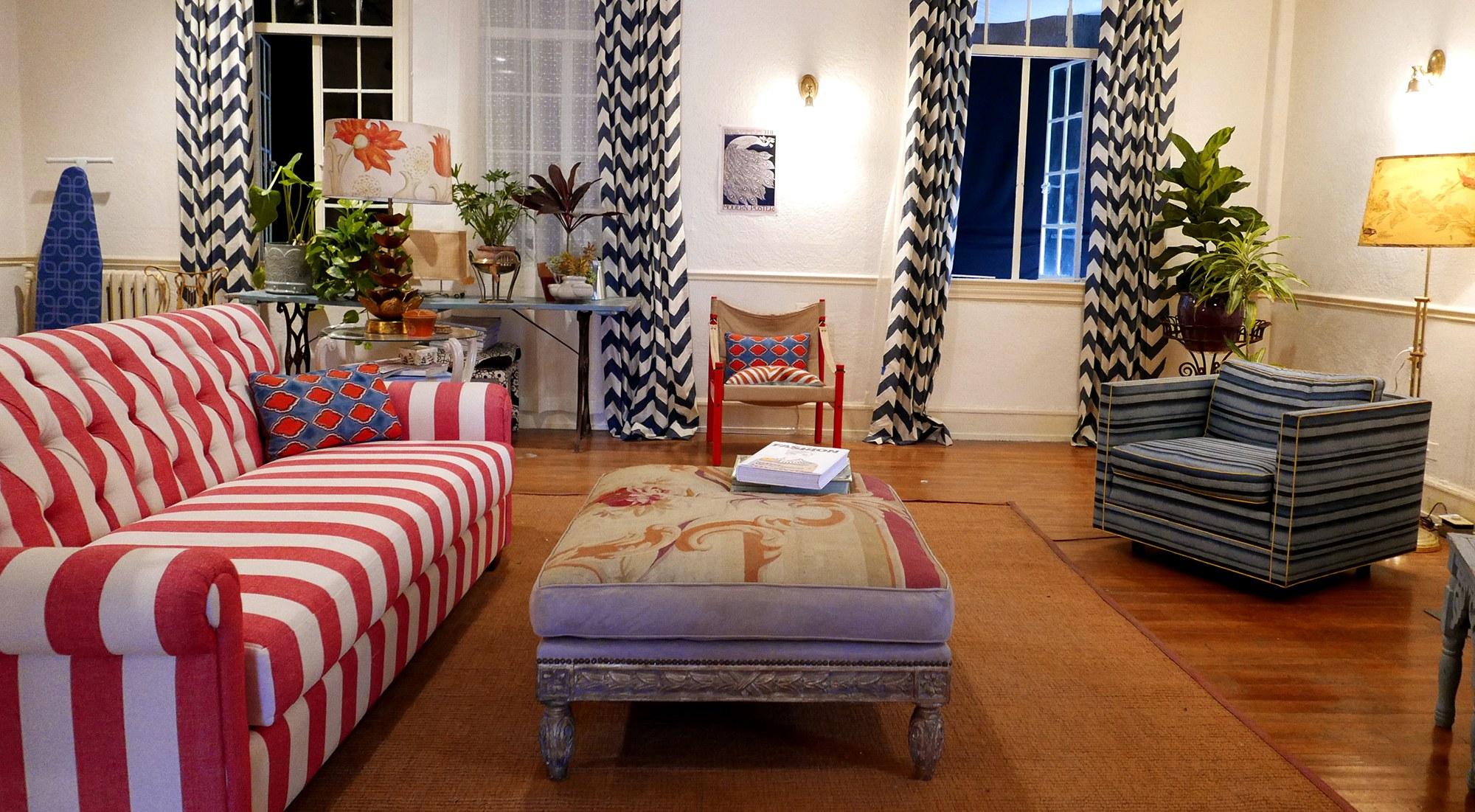 The apartment from La La Land