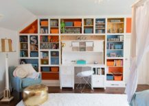 Traditional-kids-room-with-splashes-of-blue-and-orange-217x155