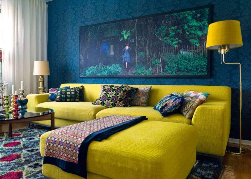 30 Bold And Neutral Colors That Go With Yellow