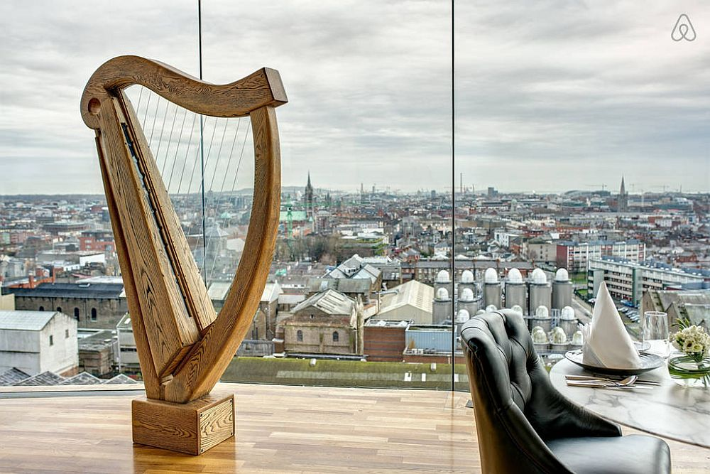 View of Dublin from the Guinness Storehouse