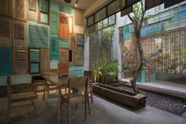 Vintage Wooden Panels, Brick and Ingenuity : Graha Lakon in Indonesia