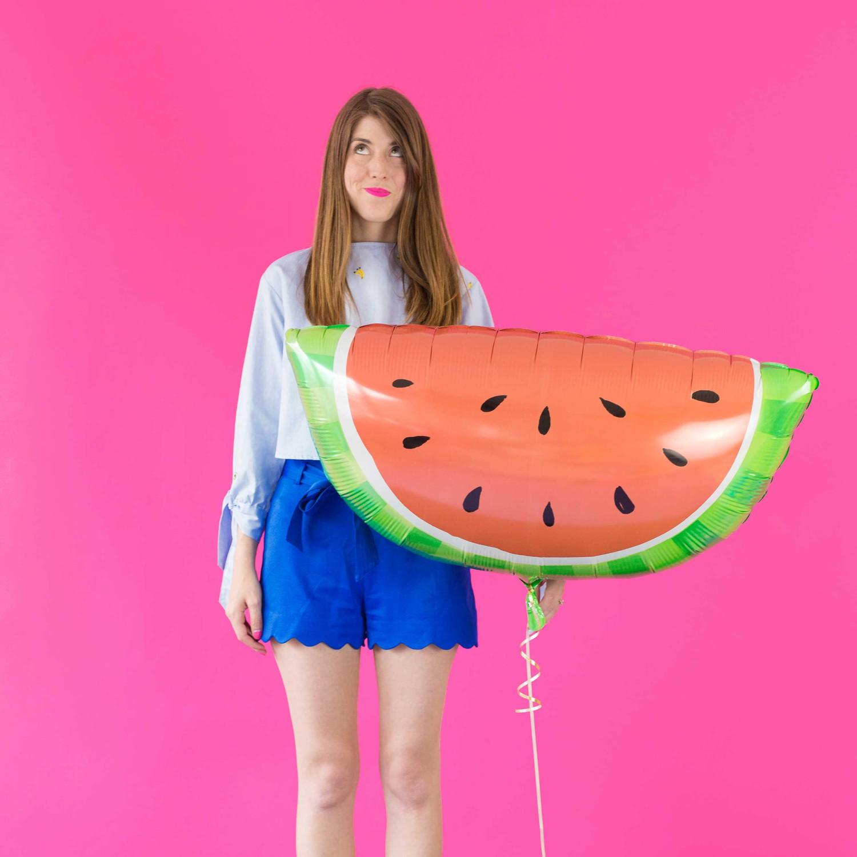 Watermelon-party-balloon