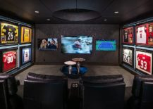 Beautifully-lit-sports-themed-jerseys-add-color-to-the-dark-home-theater-217x155