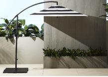 Black-and-white-striped-modern-patio-umbrella-217x155