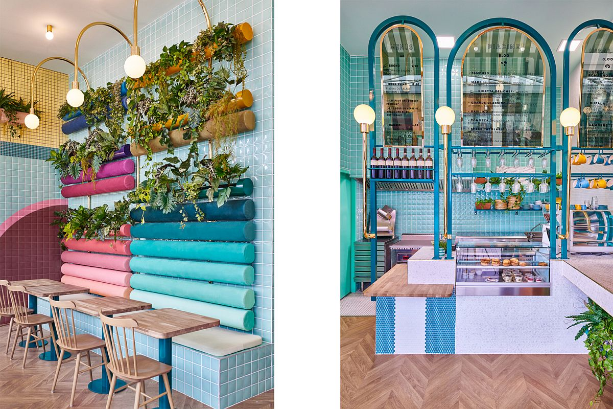 Colorful and eclectic Italian restaurant in France!