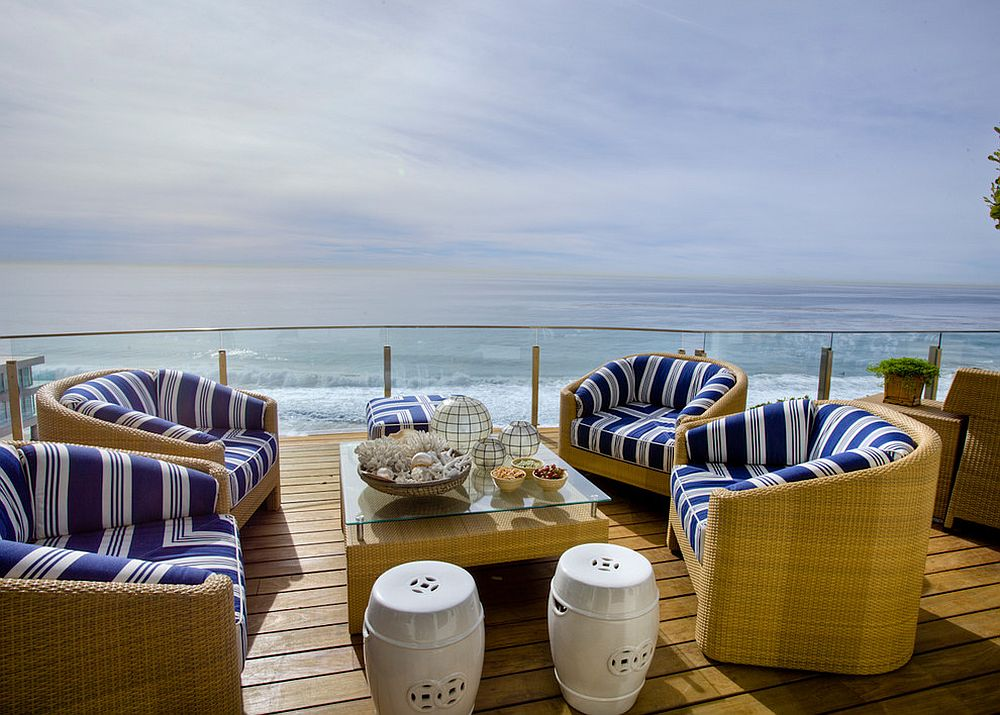 Comfy rattan furniture brings luxury outdoors