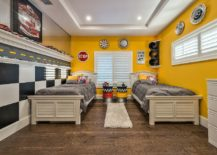 Eclectic-bedroom-in-yellow-black-and-white-still-feels-polished-and-refreshing-217x155