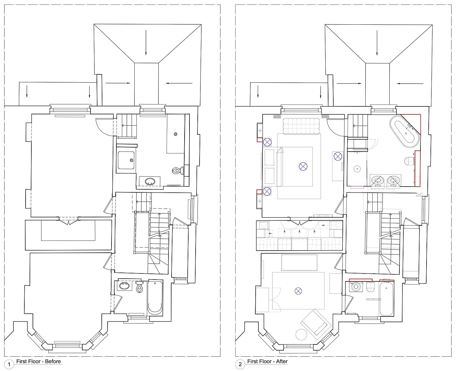 A new beginning modern makeover of victorian townhouse in for Victorian townhouse plans