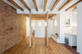 Small and Aging Barcelona Apartment Gets a Light-Filled Adaptable Makeover