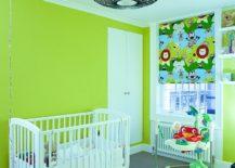 Green-jungle-themed-nursery-with-plenty-of-blue-217x155