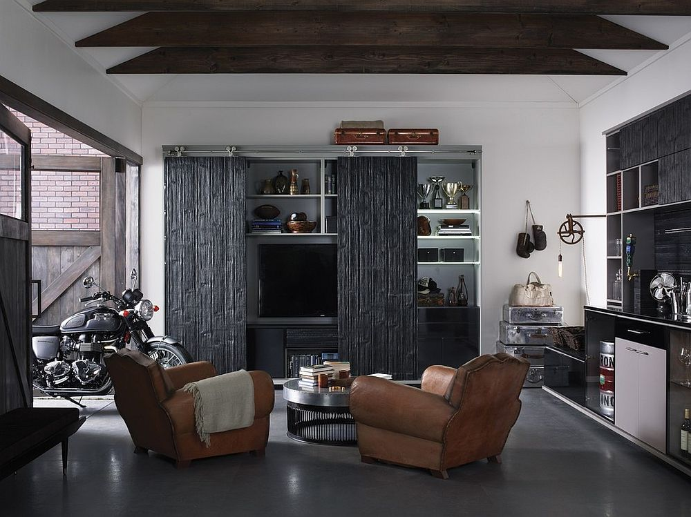 Turning The Garage Into A Man Cave Tips Ideas And Inspiration