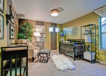 Lime-green-and-brown-stripes-give-the-spacious-midcentury-nursery-a-vivacious-appeal-217x155
