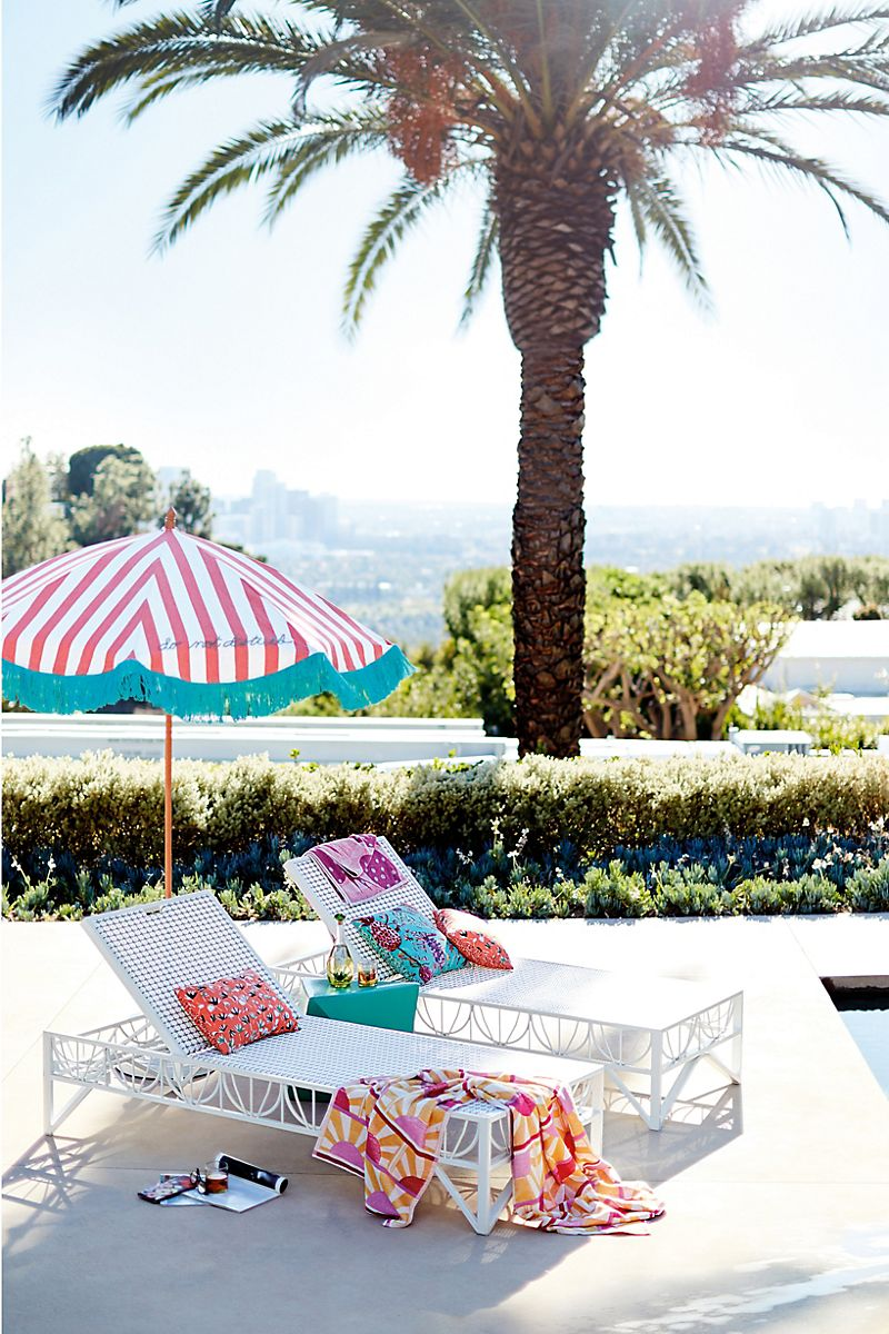 Lounge chairs from Anthropologie