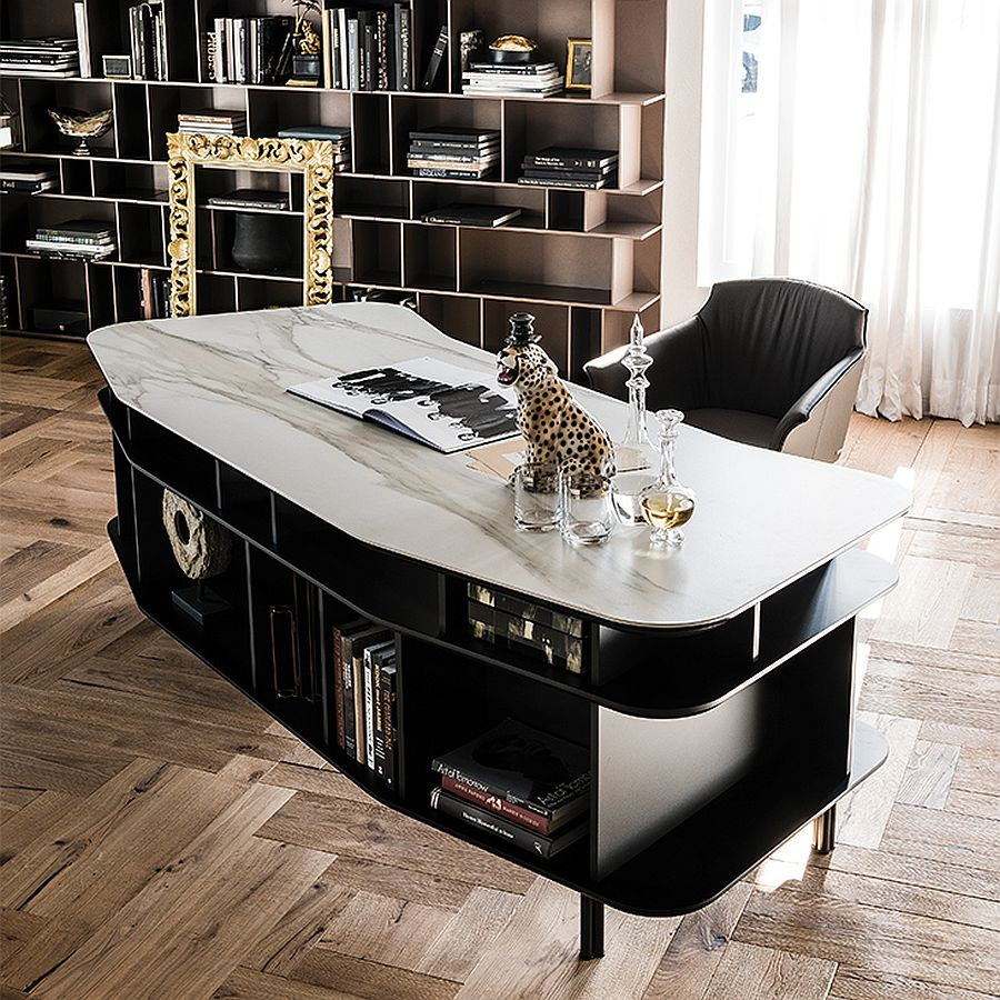 Majestic desk is perfect for the large home office