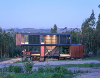 Chilean Home Appears Suspended In La Boca Hills