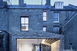 This Historic London Home Gets an Extension that Celebrates Brick!