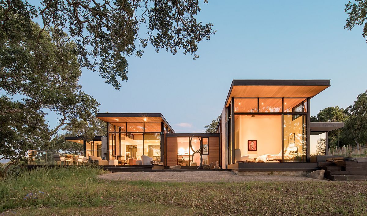 Pavilion style living encourages connectivity with nature