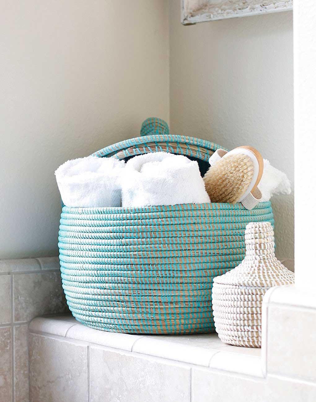 Powder-room-basket-in-mint