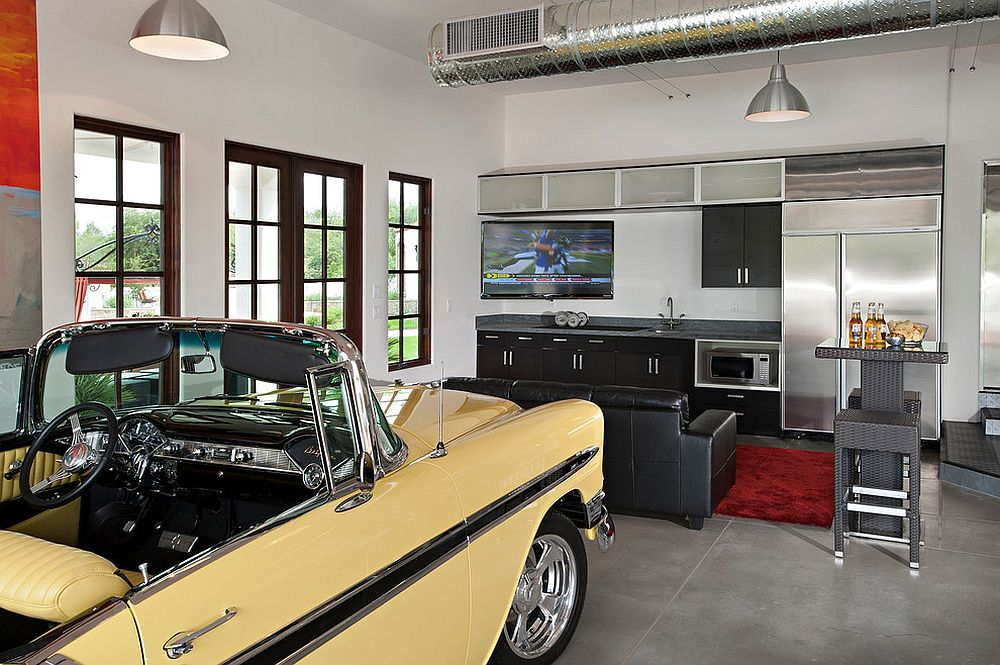 Garage Man Cave Ideas, Tips, And Inspiration For The ... on Garage Decoration  id=43216