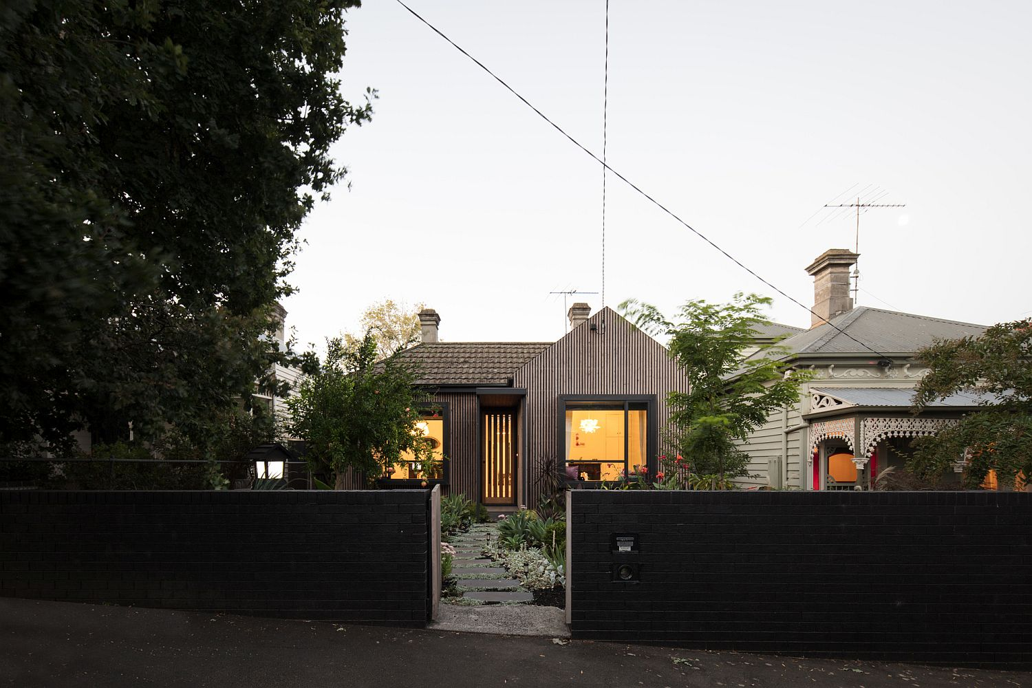 Revitalized and redone Victorian house in Melbourne with a smart rear extension