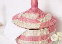 Rose-herringbone-basket-on-a-powder-room-counter-217x155