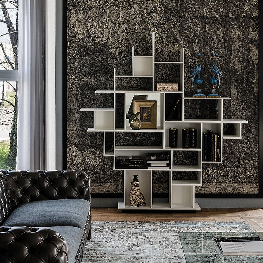 Snazzy-contemporary-bookcase-designed-by-Giorgio-Cattelan