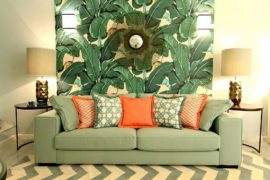 Wallpaper with Tropical Flavor: 25 Trendy Ways to Add Greenery and Colorful Zest