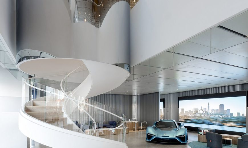 NIO House in Beijing Redefines Your Journey into the World of Electric Cars!