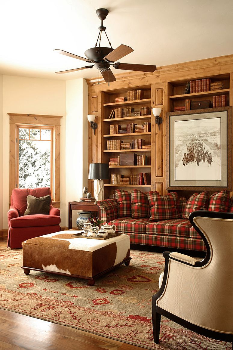 Pattern Overload 30 Ways To Invite Plaid Into Your Home