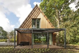Forest Villa In Netherlands Offers Escape From Reality