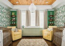 A Trendy Tinge Of Freshness Gorgeous Green Nursery Ideas