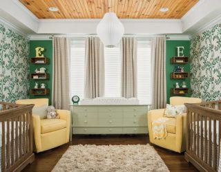 A Trendy Tinge of Freshness: Gorgeous Green Nursery Ideas