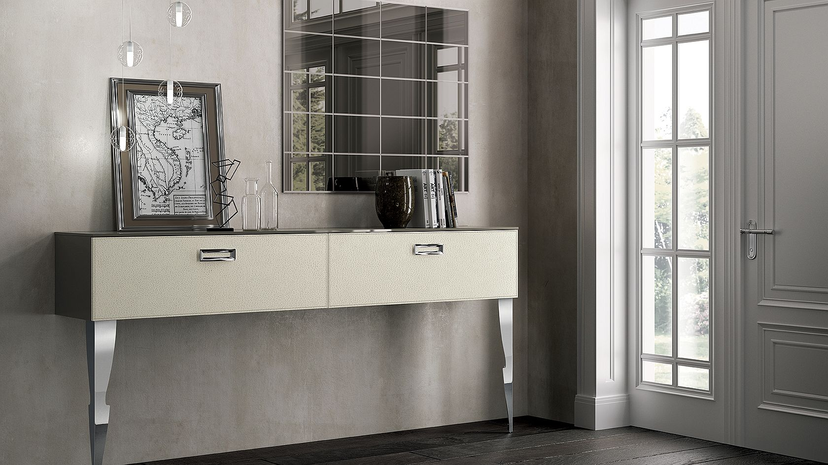 Classical style combined with modern elements in the Exclusiva Collection